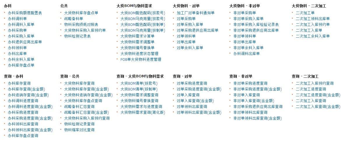 丰捷SCM物料管理,服装供应链管理系统,丰捷软件,广州丰捷企业管理服务有限公司